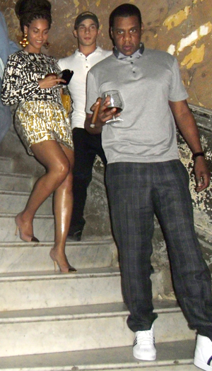 Beyonce and Jay-Z in Cuba (Ramon Espinosa/AP Photo)