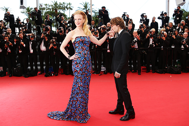 Kidman (with husband Keith Urban) at the Cannes Film Festival on May 19. (Vittorio Zunino Celotto/Getty Images)