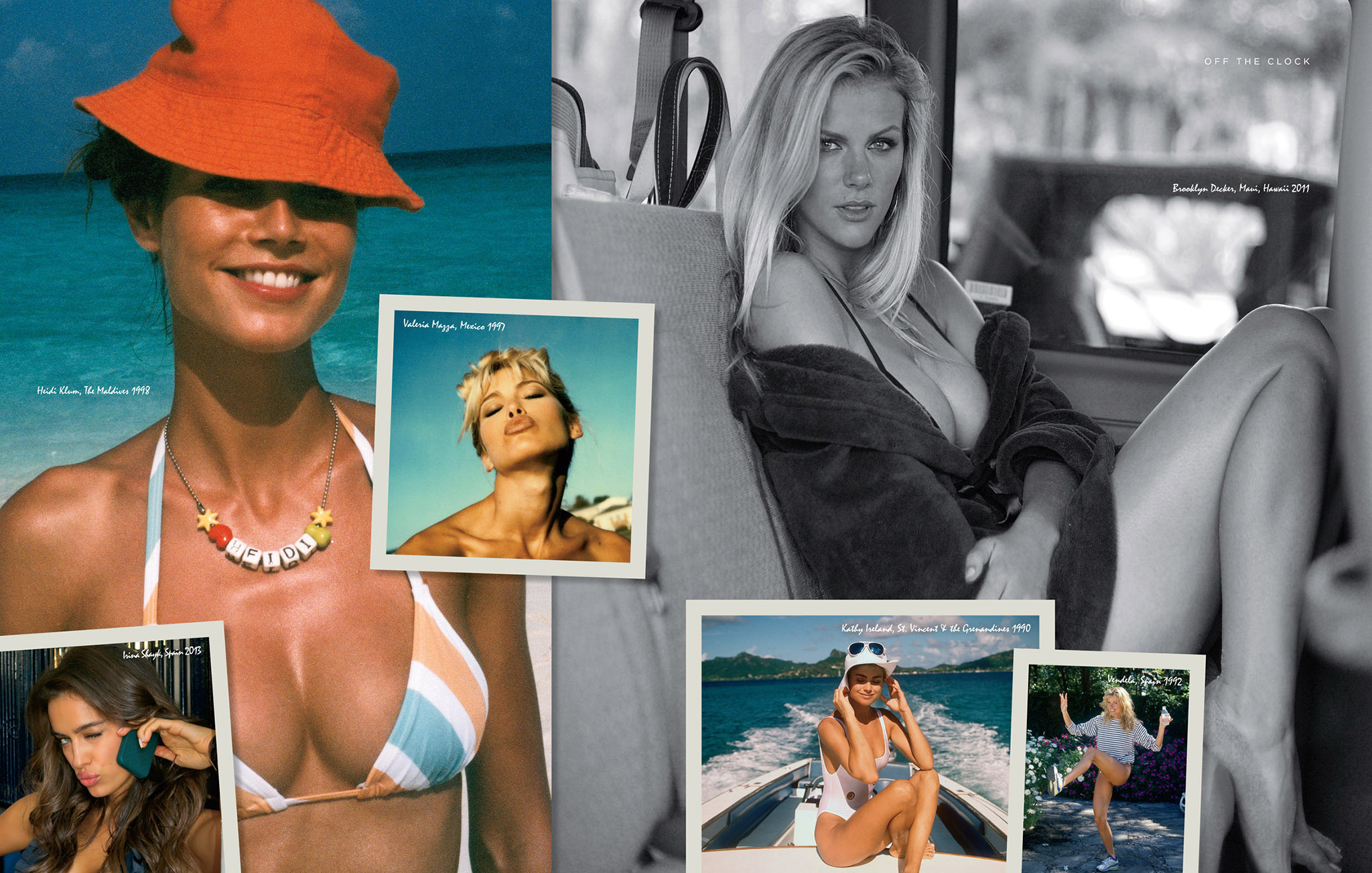 Heidi Klum and Brooklyn Decker are among those featured in Sports Illustrated Swimsuit: 50 Years of Beautiful.