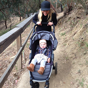 Hilary Duff out hiking with Luca (Instagram/Hilary Duff)