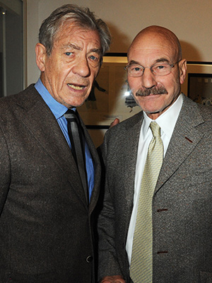 Ian McKellen and Patrick Stewart (Getty Images)