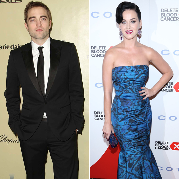 Robert Pattinson and Katy Perry (Getty Images)