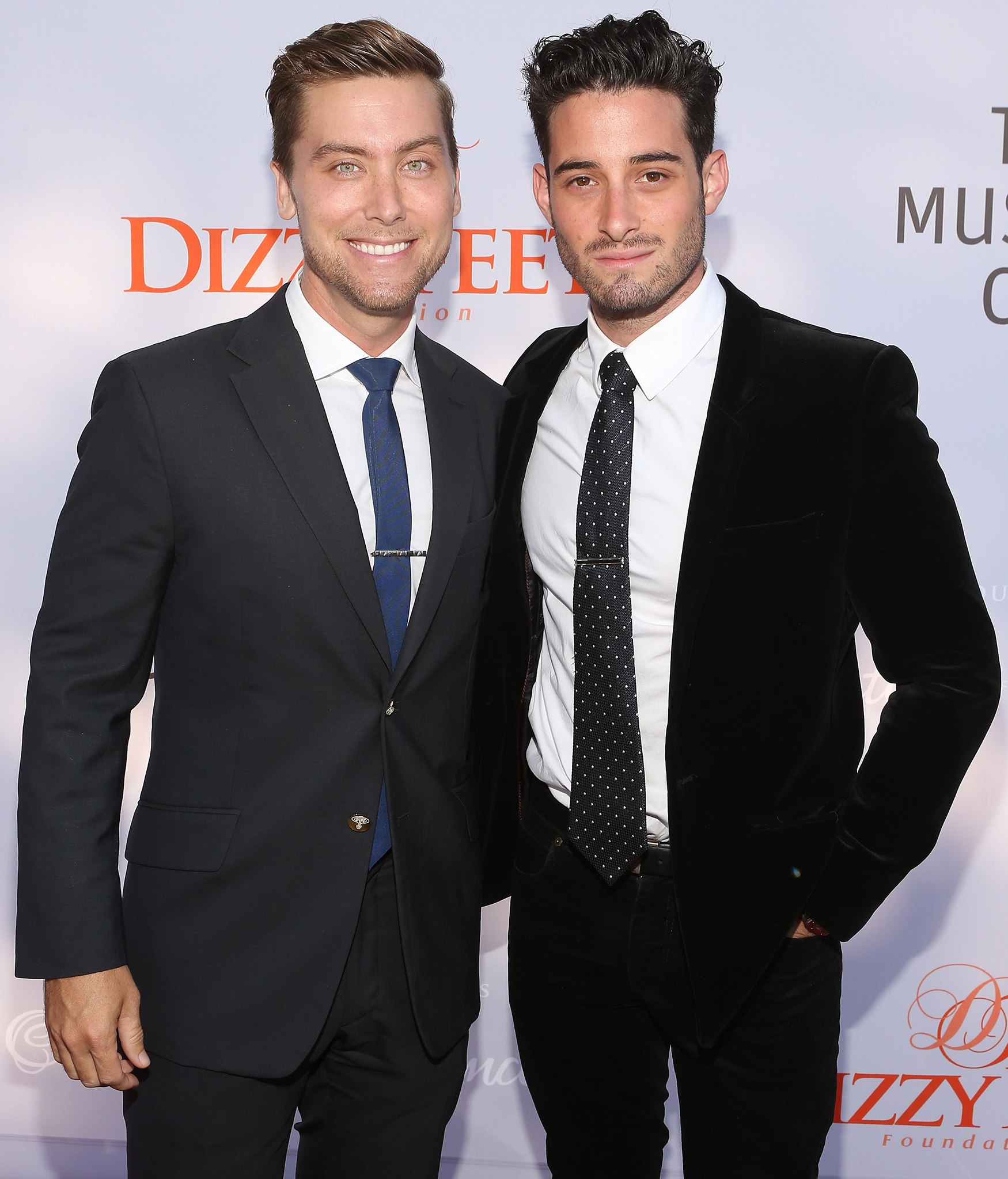 Lance Bass and Michael Turchin (Getty Images)