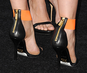Paltrow's shoes (Getty Images)