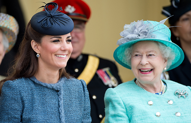 Queen Elizabeth and Kate Middleton (Getty Images)