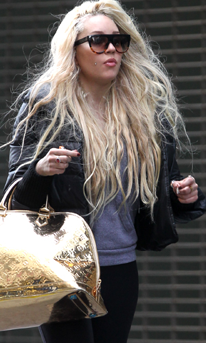 Amanda Bynes in NYC (SplashNews)