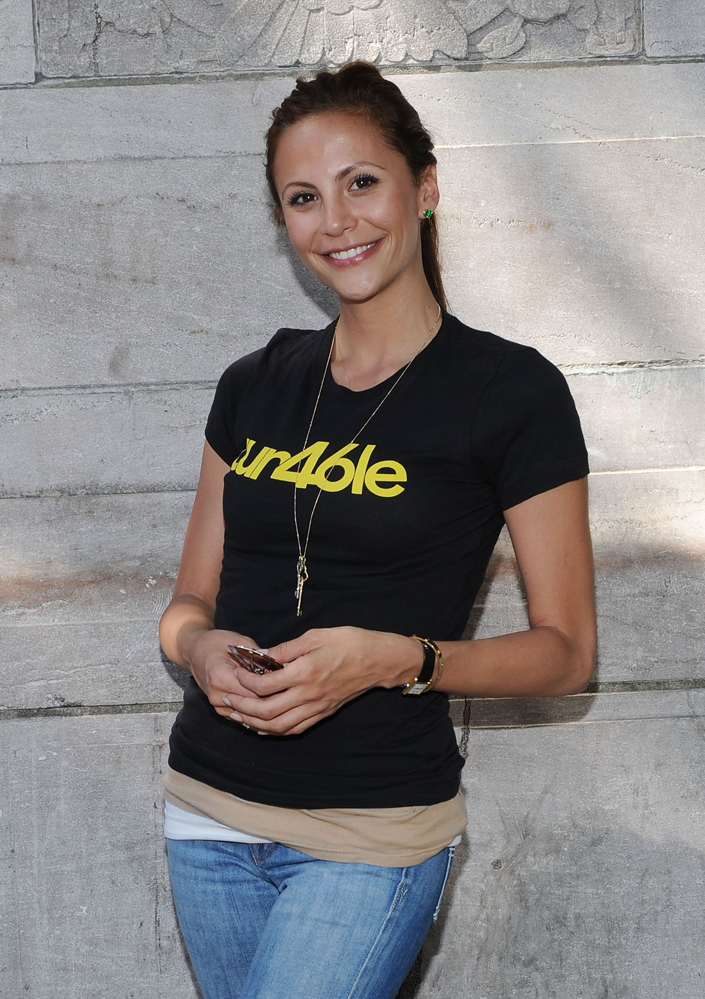 Gia Allemand in 2010. (Slaven Vlasic/Getty Images)