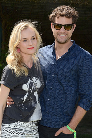 Diane Kruger and Josh Jackson (Michael Kovac/Getty Images for H&M)