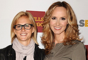 Lauren Blitzer-Wright and Chely Wright (Jason LaVeris/FilmMagic)