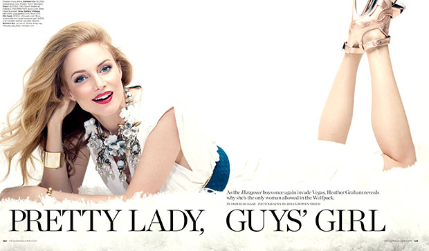 Heather Graham in Vegas Magazine (Brian Bowen Smith)