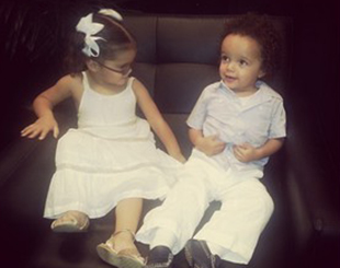 Dem Babies backstage at 2013 MLB All-Star Charity Concert in NYC (Instagram)