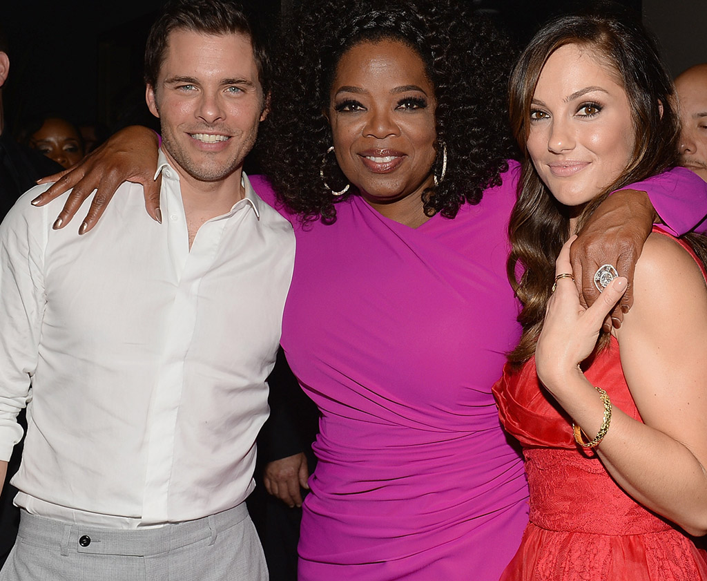 James Marsden, Oprah Winfrey, and Minka Kelly at the Los Angeles premiere of 'Lee Daniels' The Butler' (Getty Images)