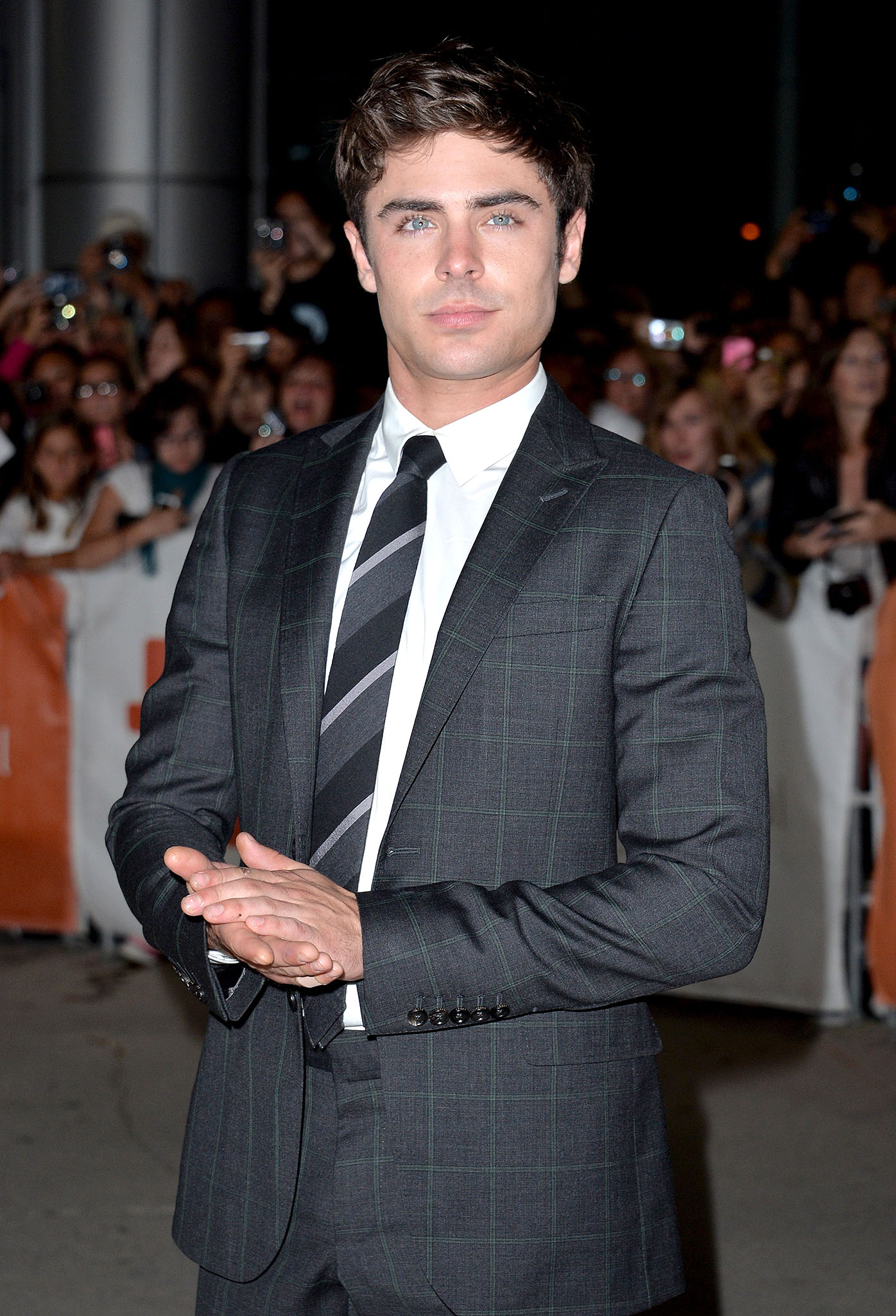 Zac Efron at TIFF on September 6, 2013 (Getty Images)