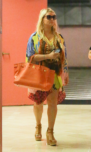 Jessica Simpson on July 23 (AKM-GSI)