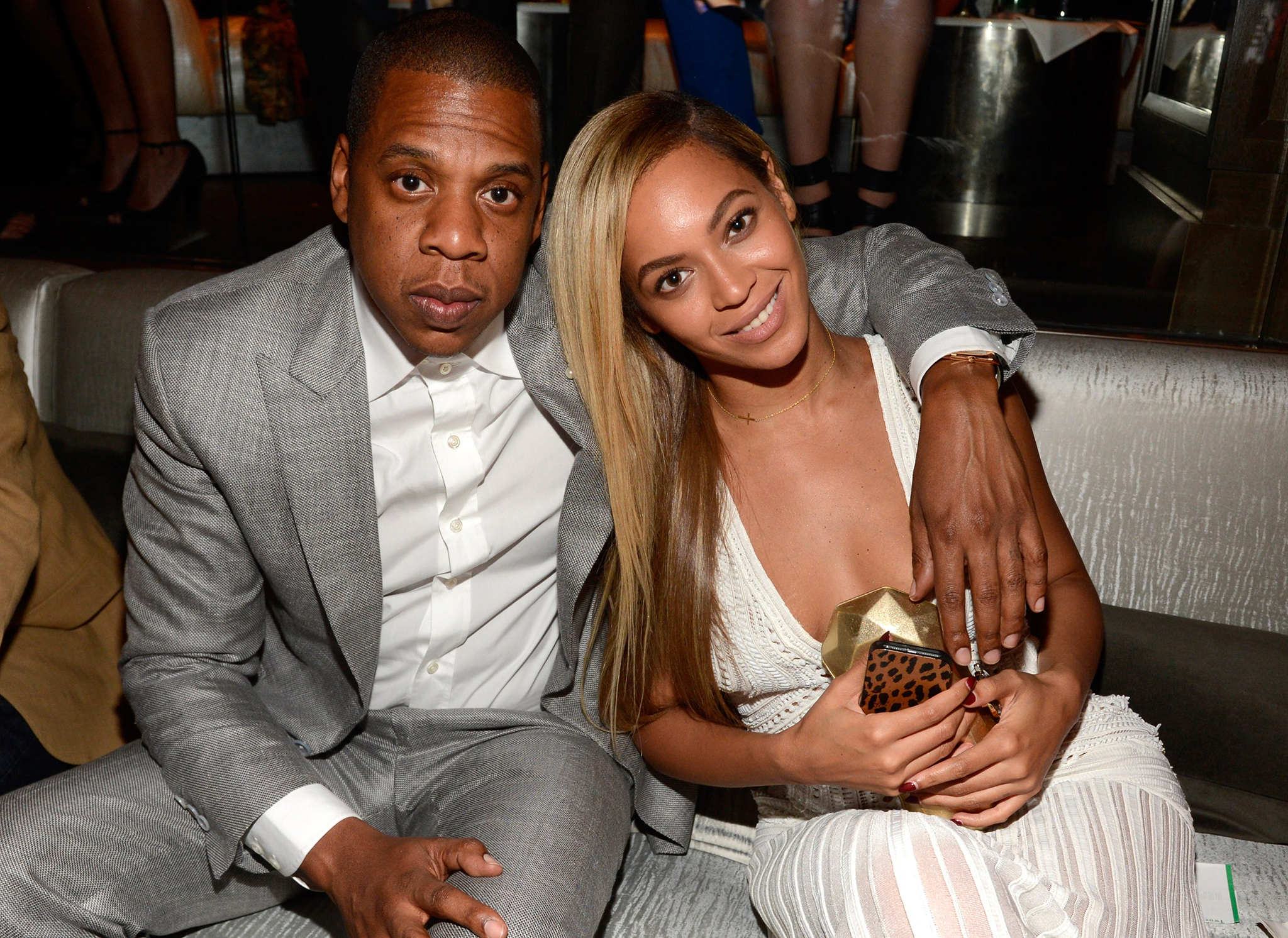 Jay Z and Beyoncé (Getty Images)