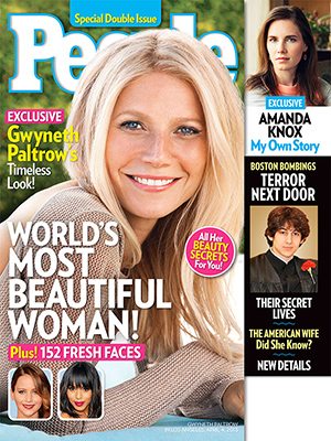 Gwyneth Paltrow covers People (People magazine)