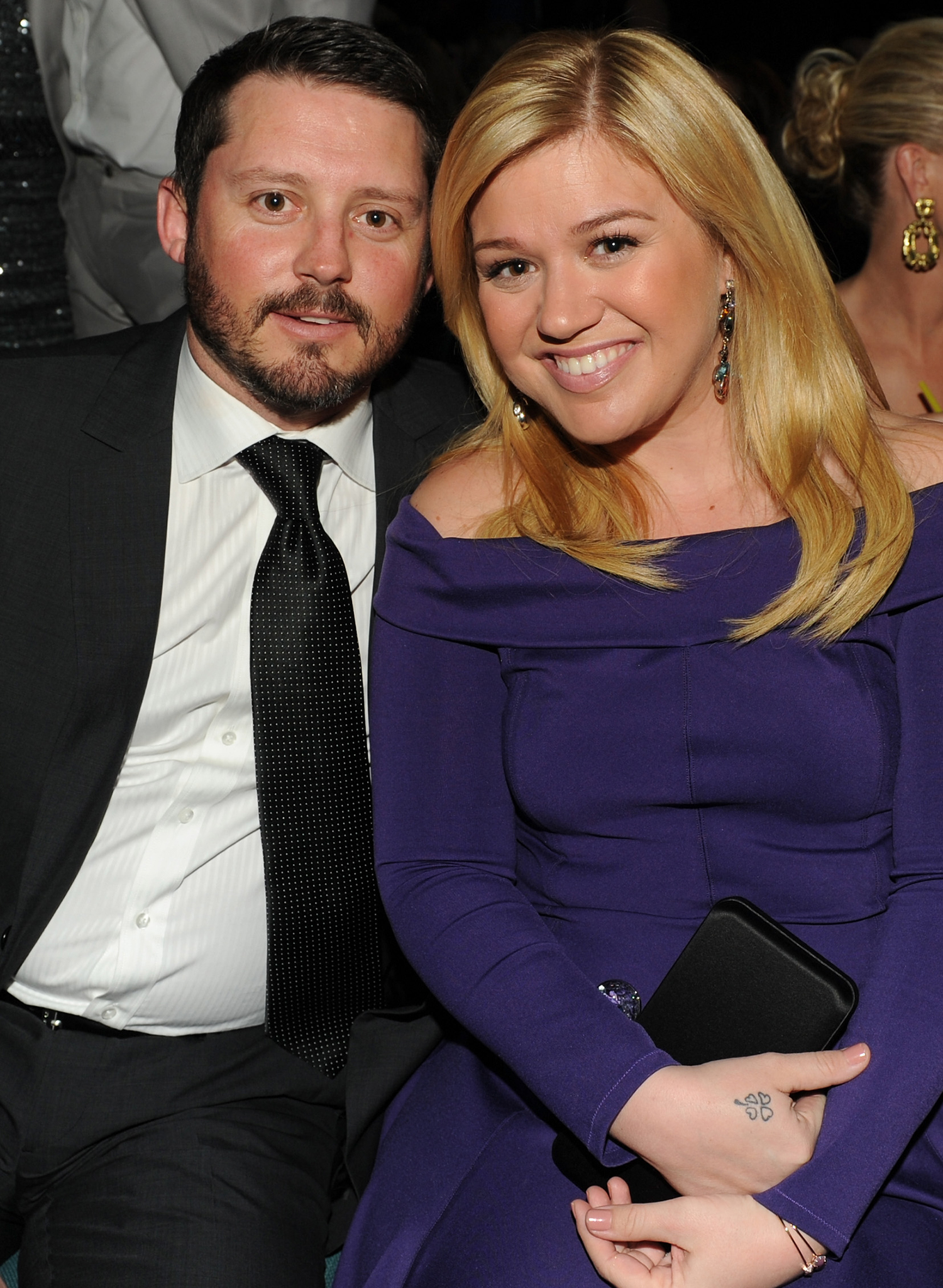 Kelly Clarkson and Brandon Blackstock (Getty Images)