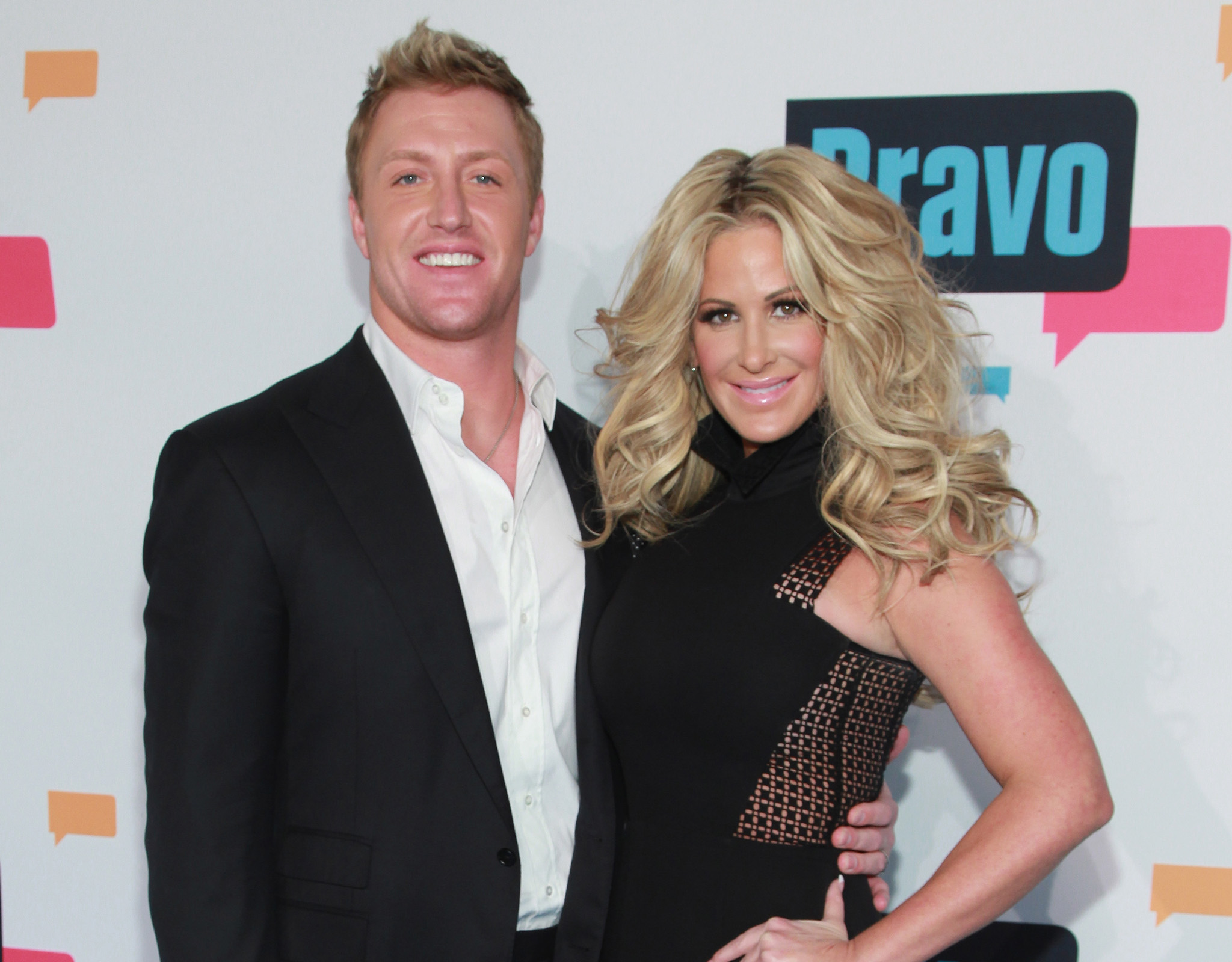 Kroy Biermann and Kim Zolciak (Taylor Hill/FilmMagic)