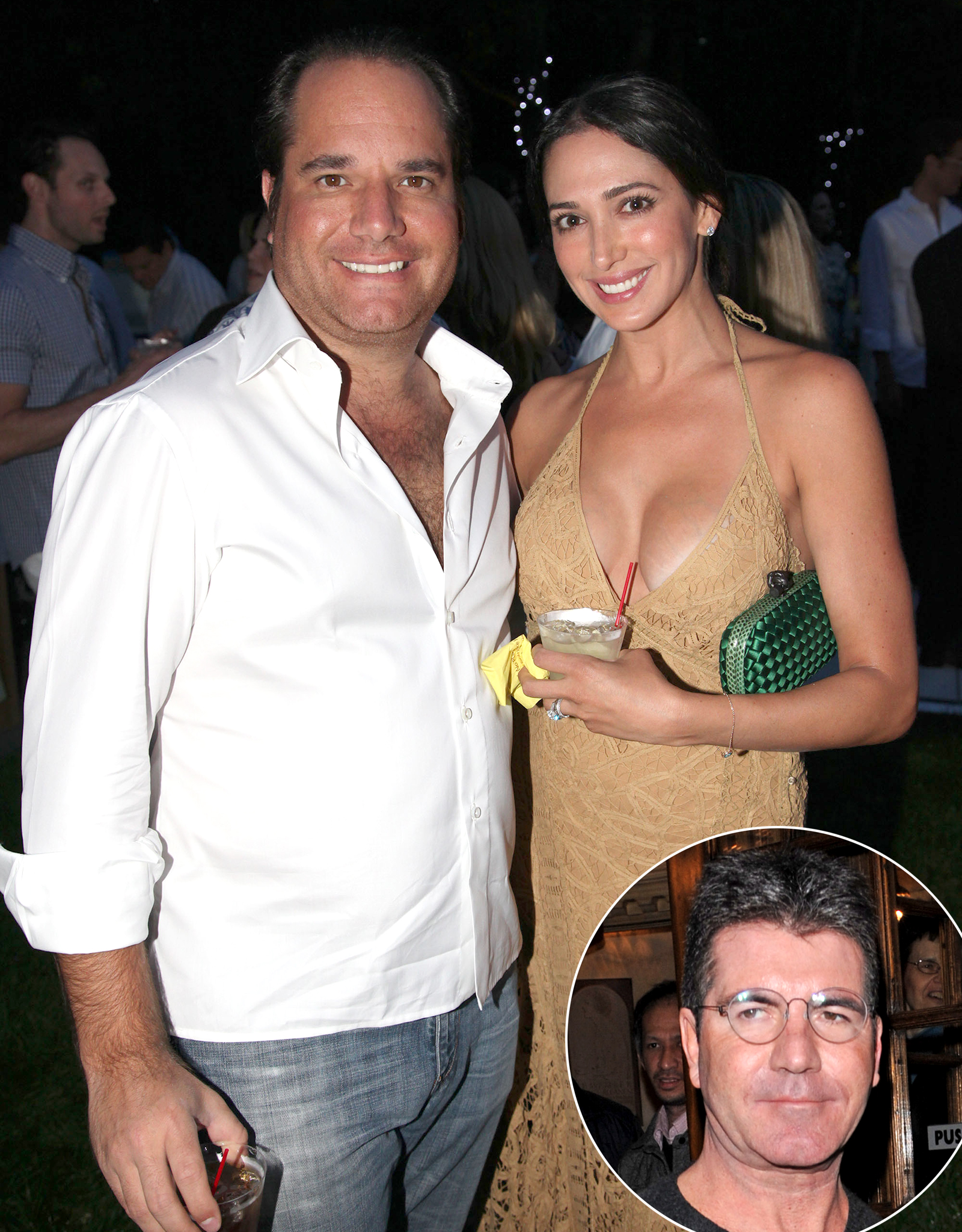 Andrew and Lauren Silverman / Simon Cowell (Splash News/FilmMagic)