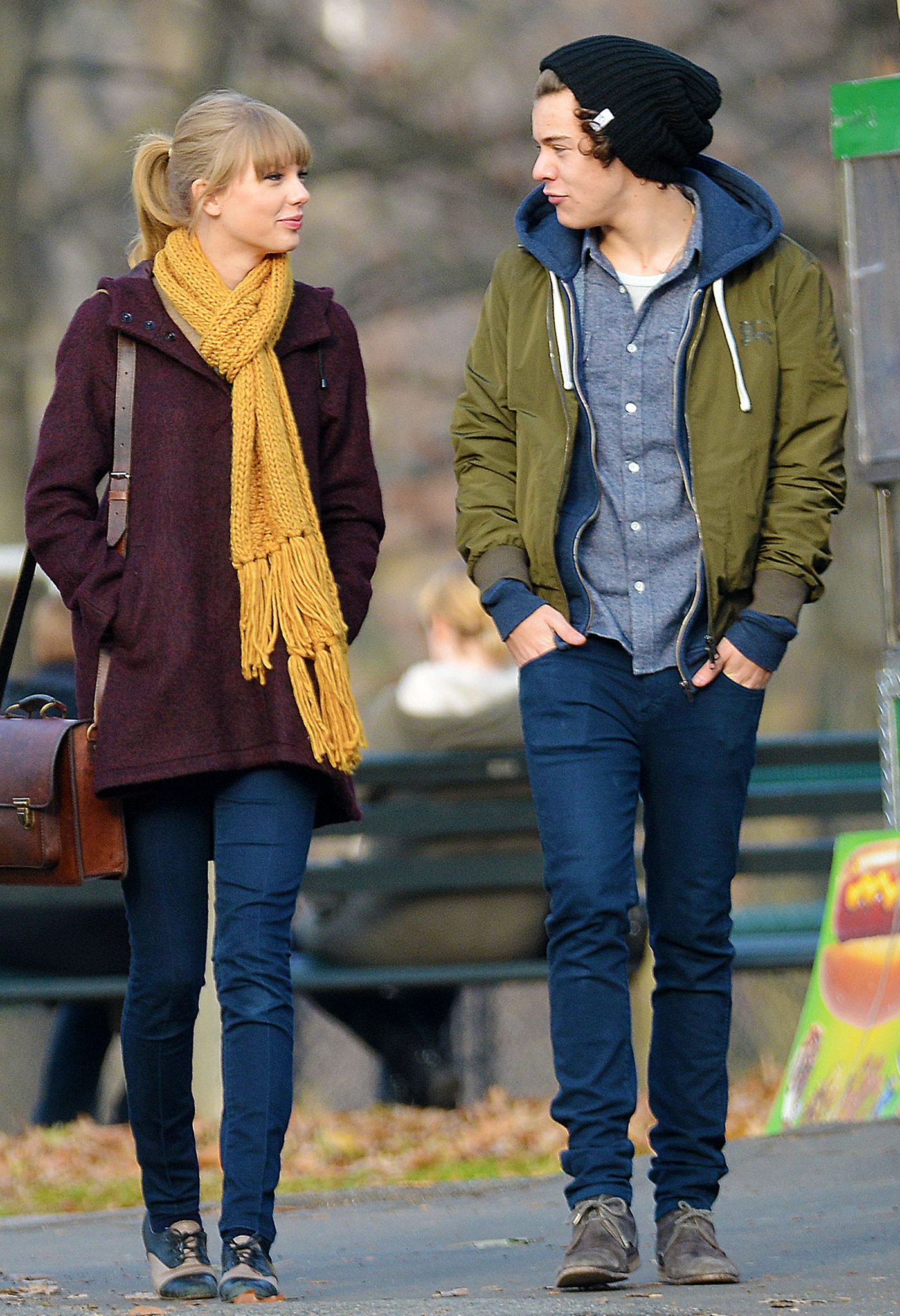 Taylor Swift and Harry Styles (Tom Meinelt/Splash News)