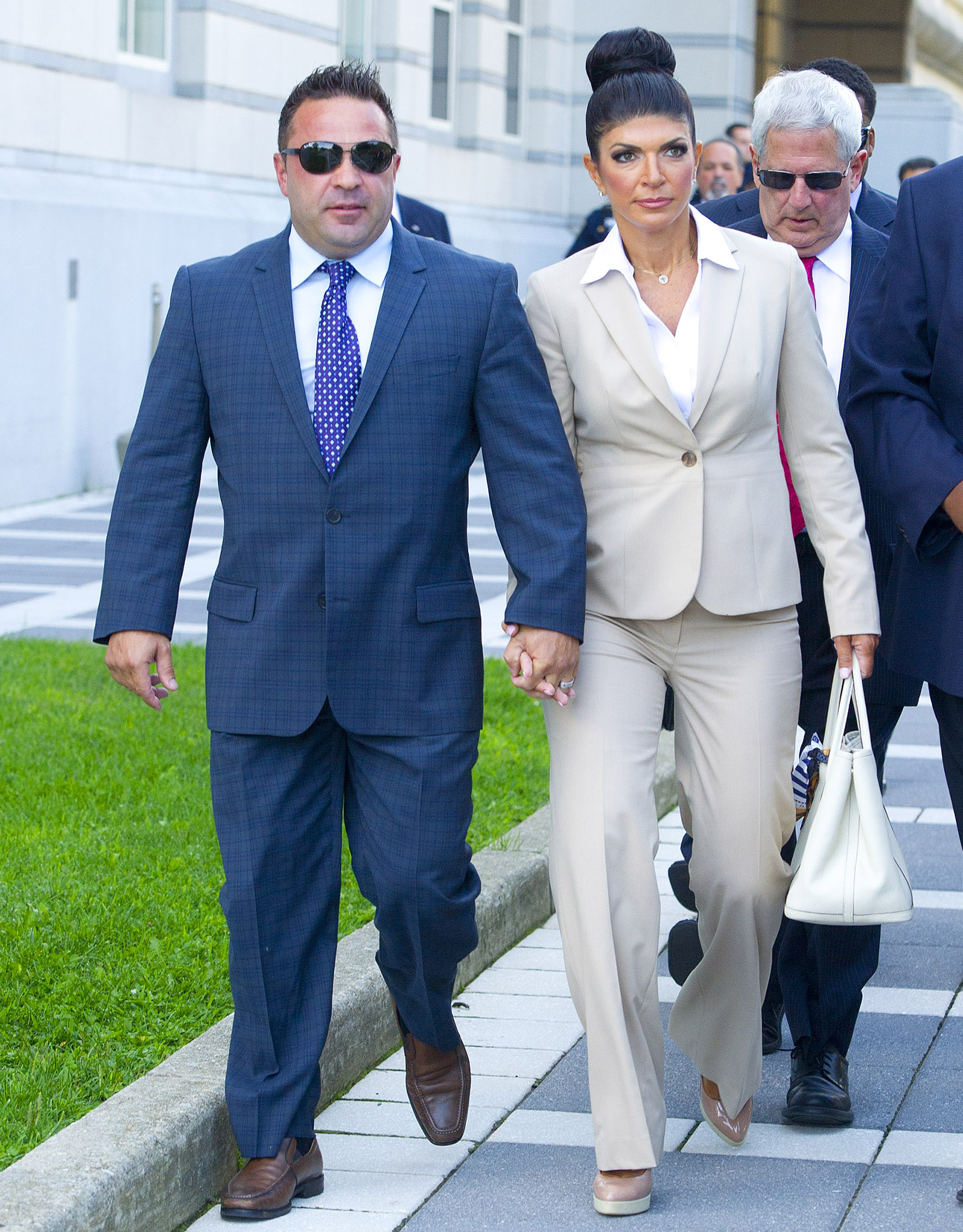 Joe and Teresa Giudice head to court Wednesday (Ron Asadorian / Splash News)