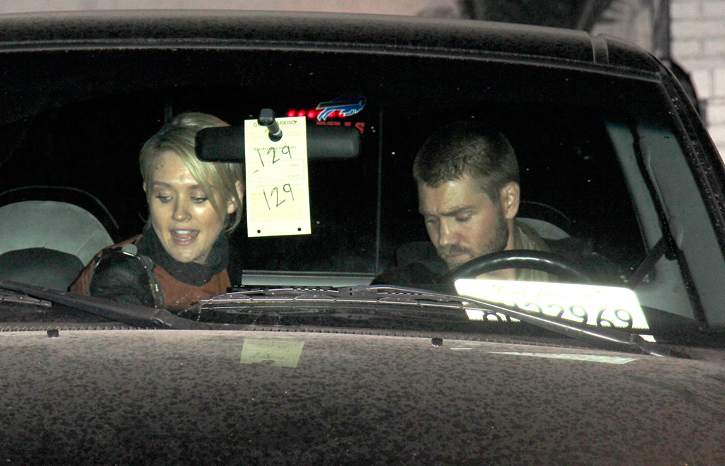 Nicky Whelan and Murray leave Chateau Marmont (PacificCoastNews.com)
