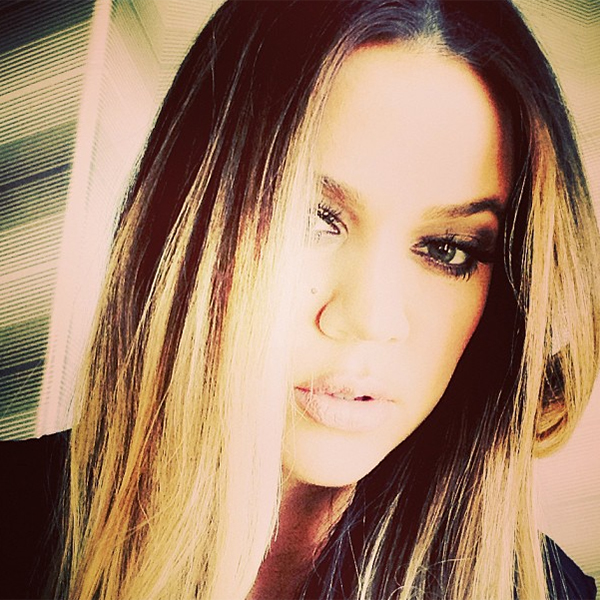 Khloe Kardashian uploaded this Instagram 8/28/13 (Instagram)