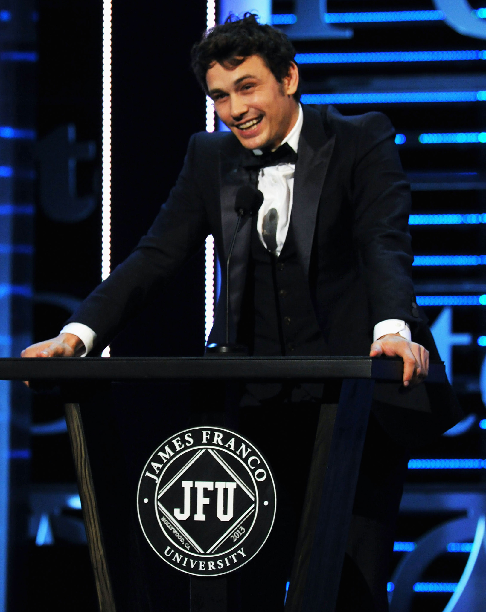 James Franco at his August roast (Getty Images)