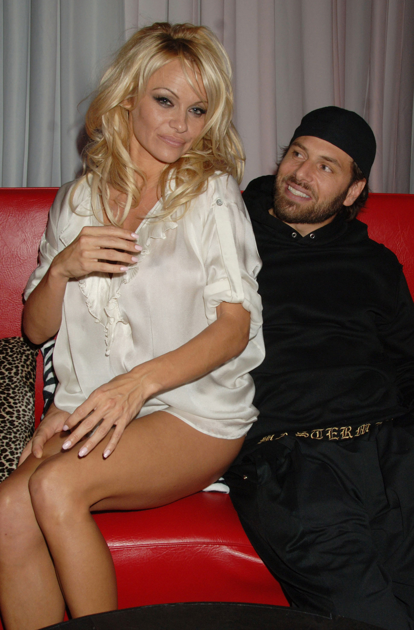 Pamela Anderson and Rick Salomon (Getty Images)