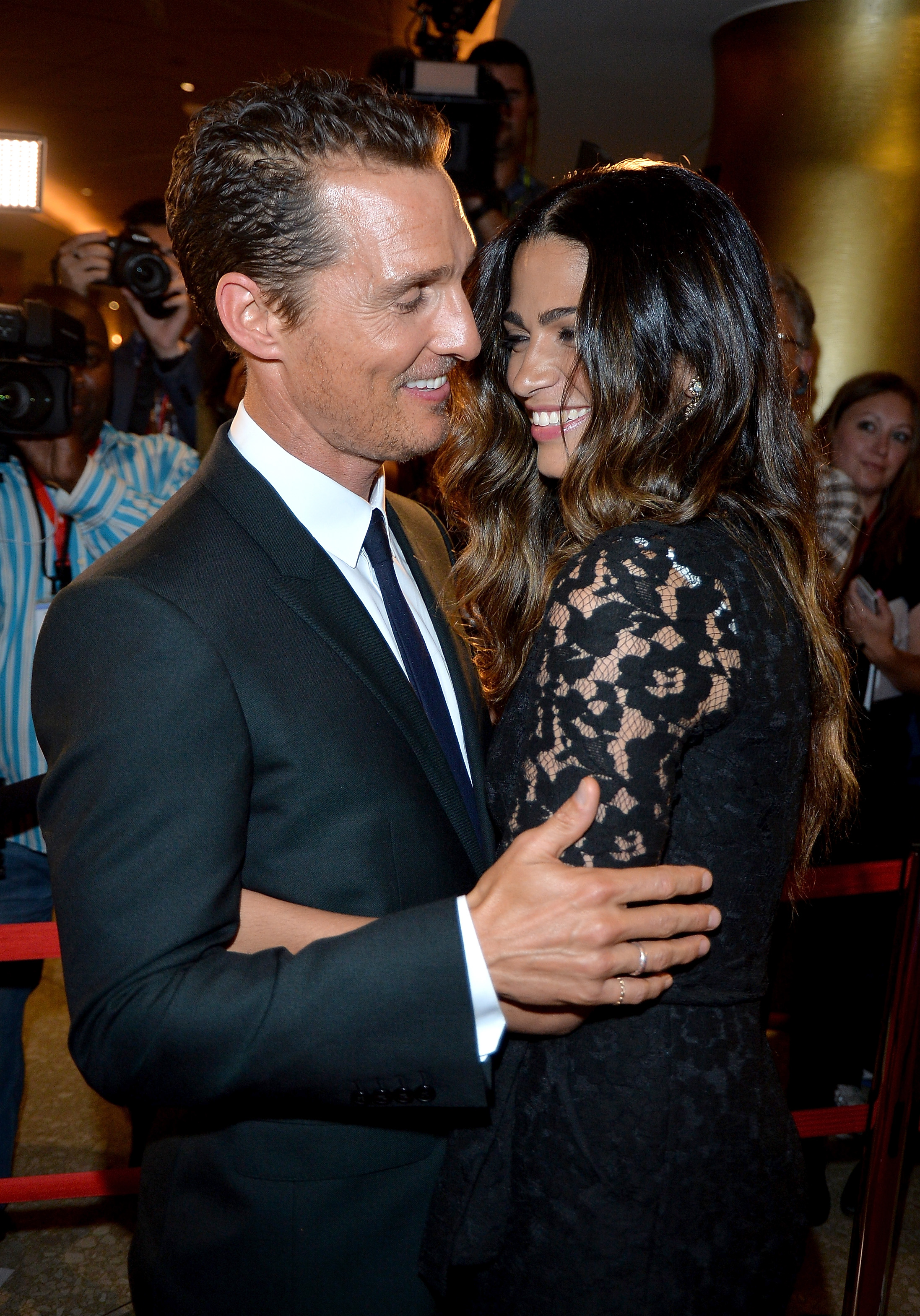Matthew McConaughey with wife Camila Alves at TIFF premiere of 'Dallas Buyers Club' (WireImage)