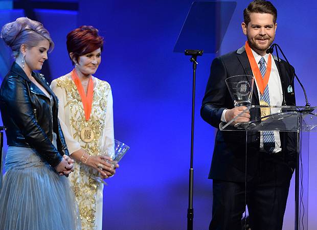 Kelly, Sharon and Jack Osbourne (Getty Images)