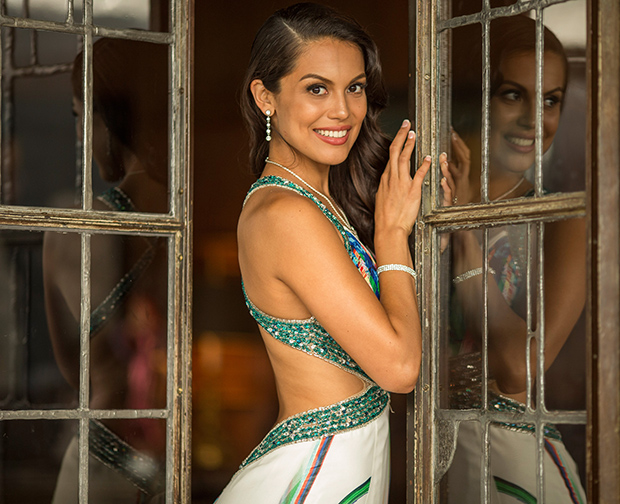Raquel Pomplun, the 2013 Playboy Playmate of the Year (Getty Images)