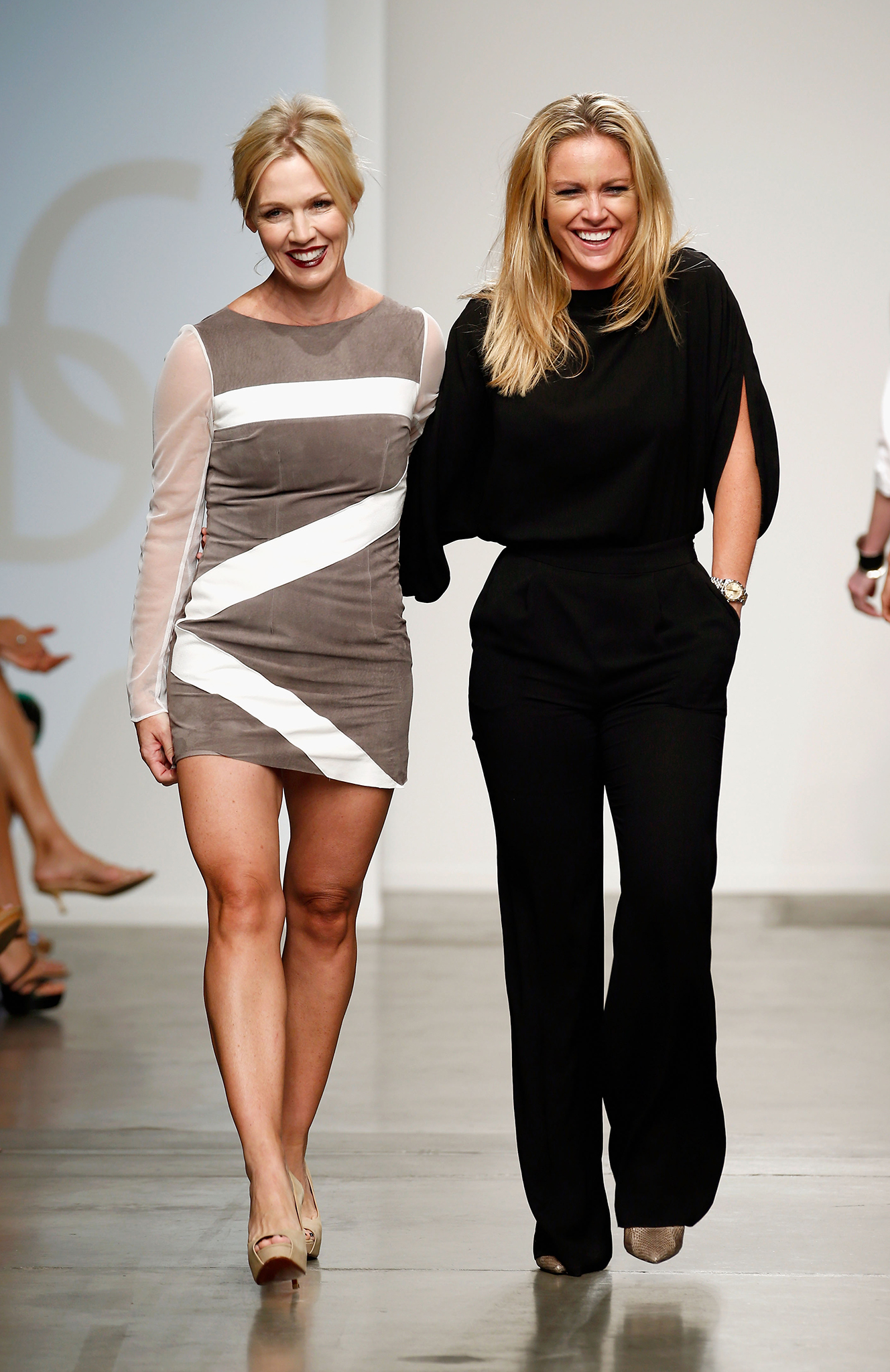 Jennie Garth with designer Aerin O'Connell (Getty Images)