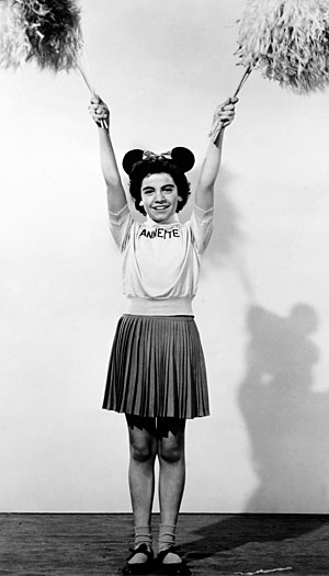 Annette Funicello in 'The Mickey Mouse Club' (Getty Images)