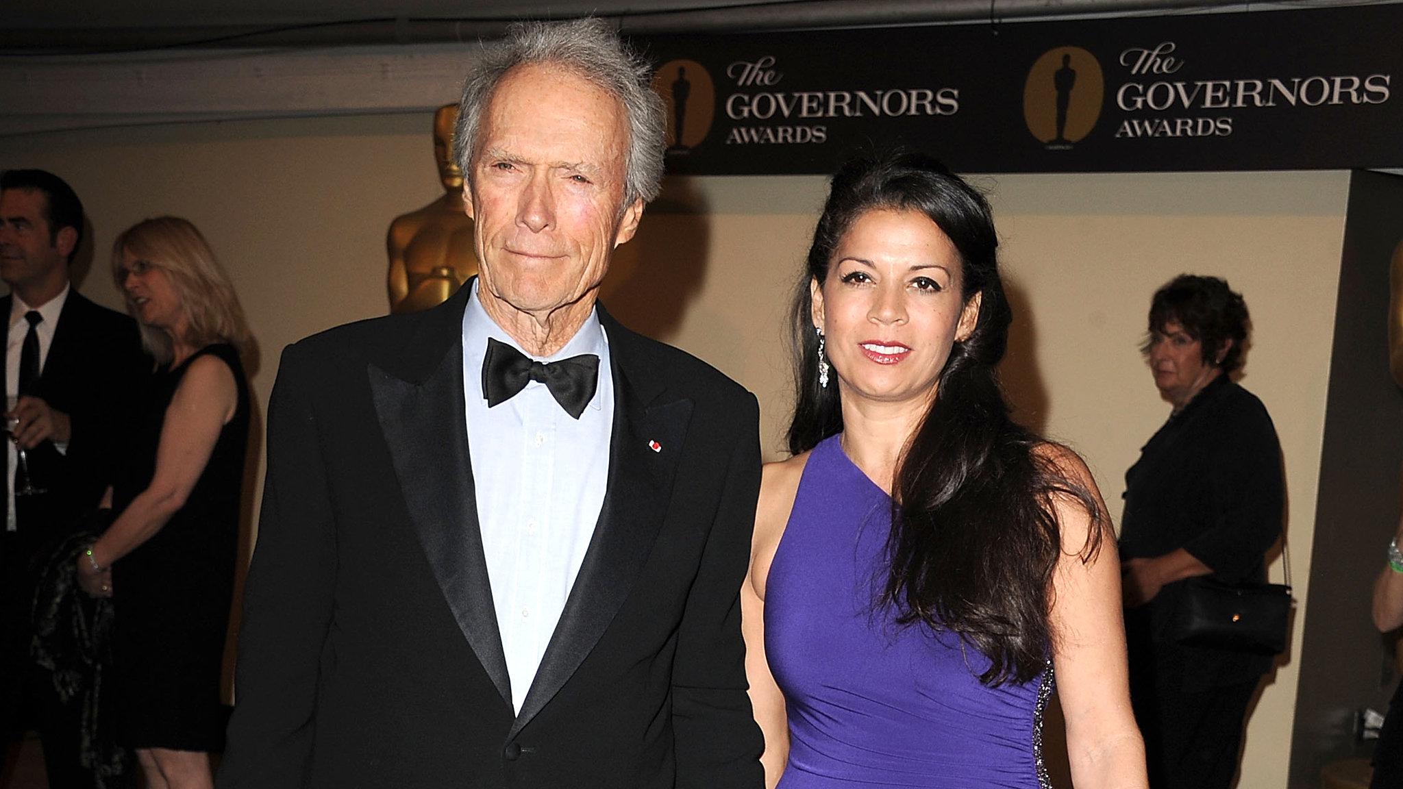 Clint and Dina Eastwood (Getty Images)