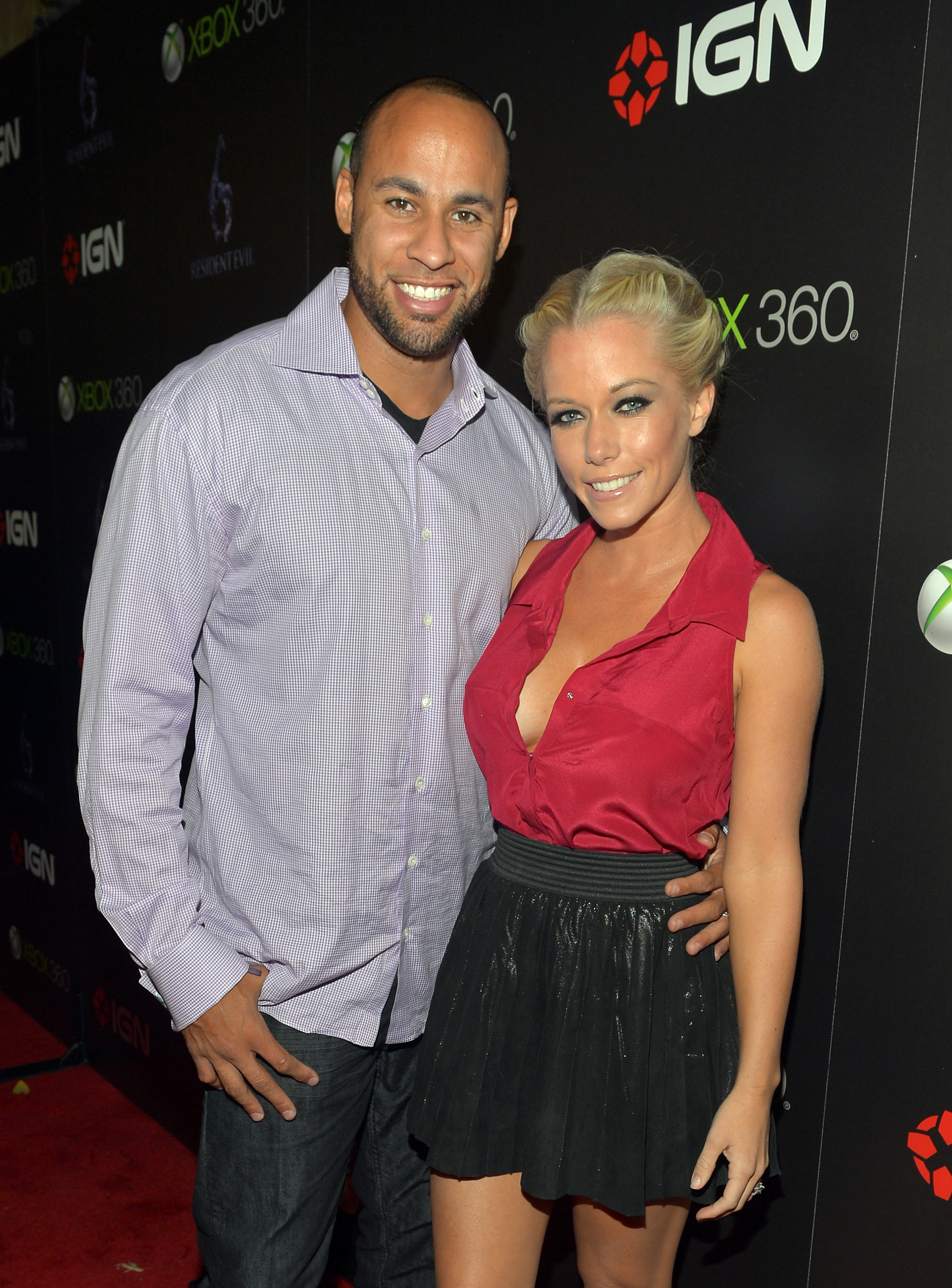 Hank Baskett and Kendra Wilkinson (WireImage)