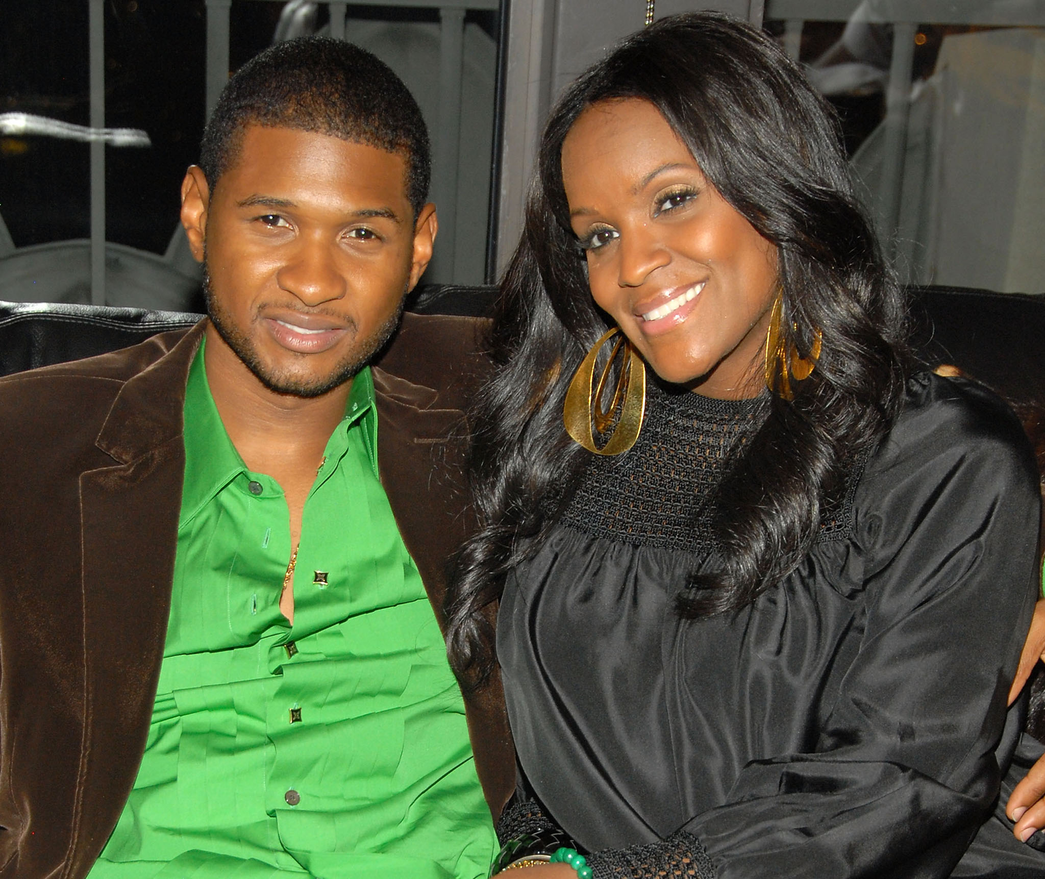 Usher and Tameka Foster (Getty Images)