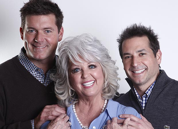 Paula Deen and her sons, Jamie and Bobby (AP)