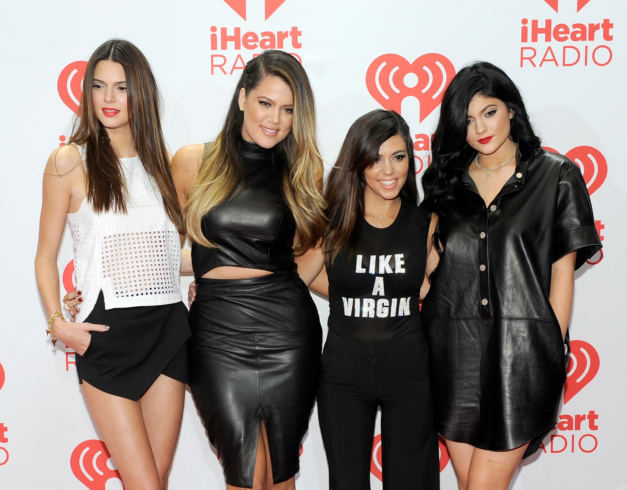 The Kardashian sisters. (Kevin Mazur/ Getty Images)