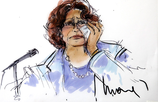 Katherine Jackson in court (Reuters)