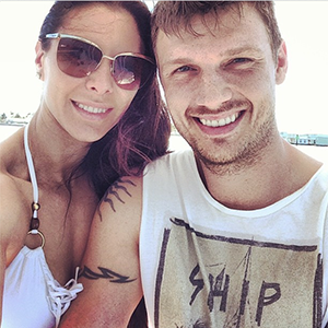 Nick Carter and Lauren Kitt (Instagram)