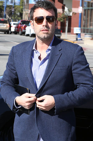 Ben Affleck on February 28 (Splash News)