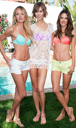 Candice Swanepoel, Karlie Kloss, and Alessandra Ambrosio (Getty Images)