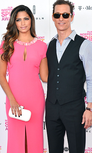 Camila Alves and husband Matthew McConaughey (Getty Images)