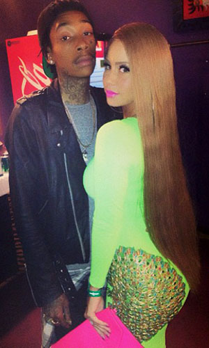 Wiz Khalifa and Amber Rose (Instagram)