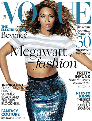 Beyonce Knowles (British Vogue, May 2013)