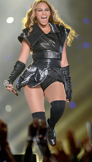 Bey's first look. (Getty Images)