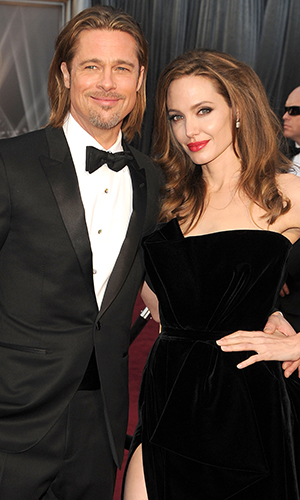 Angelina Jolie and Brad Pitt (Wireimage)