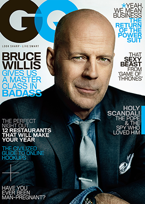 Willis covers GQ.