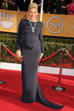 Busy Philipps on the red carpet of the SAG Awards. (Steve Granitz/WireImage)
